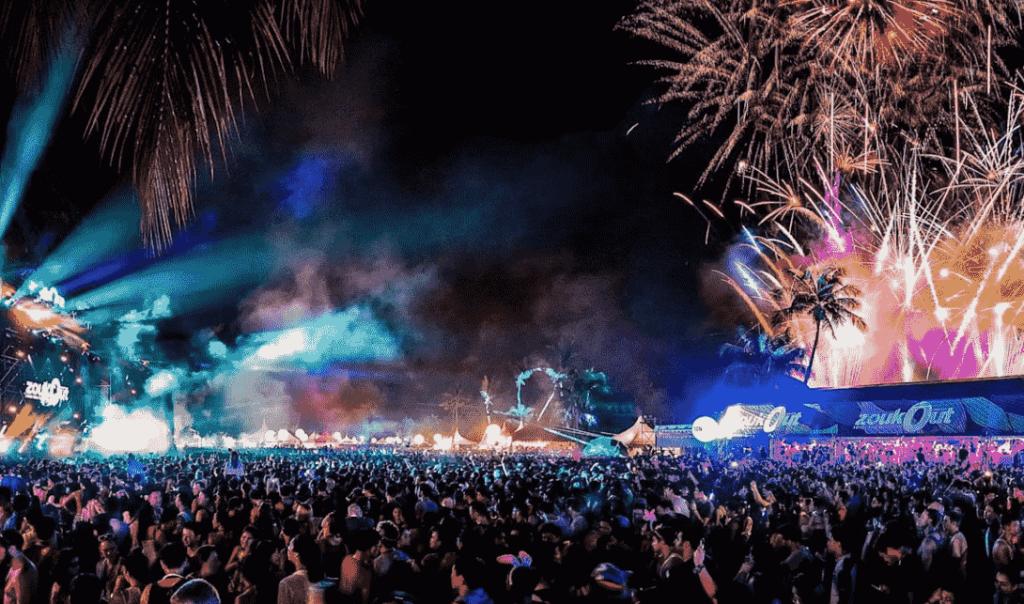 Zoukout festival EDM festivals